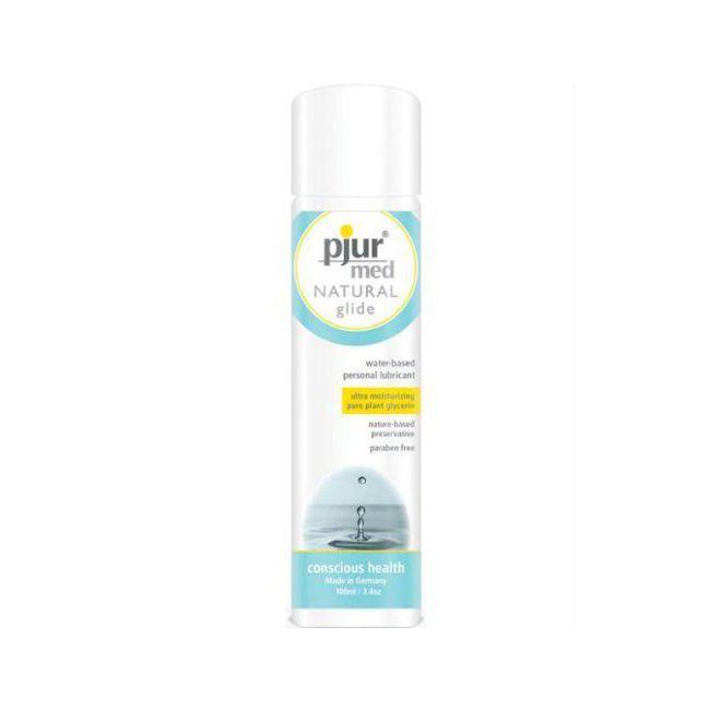 gel lubrifiant intime base d 39 eau pjur med natural glide. Black Bedroom Furniture Sets. Home Design Ideas