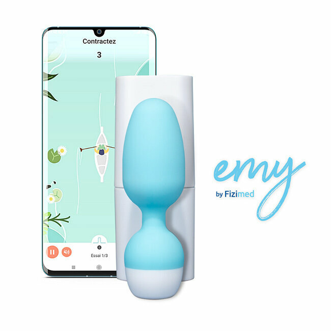 Emy, sonde vaginale connectée interactive